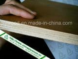 Madera contrachapada hecha frente película de Brown de la fabricación de China