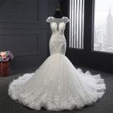 Платье венчания нового Mermaid Applique прибытия Bridal