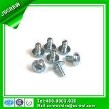 Verzinkter Oblate-Kopf-Gewindeschneidschraube der Wannen-M3 für Plastik
