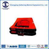 Personen-aufblasbares Rettungsfloß der ISO/Solas Zustimmungs-4