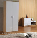 3 Piece Ottawa High Gloss Bedroom Furniture Set (A21B41C11)