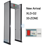 33 Zonas de segurança Archway Porta Frame Walk Through Metal Detector Gate Xld-G2