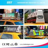 Bon signe polychrome extérieur du dessus DEL de taxi de la qualité P5mm