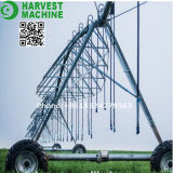 Sistema de irrigación del remolque de la granja de tres ruedas para la agricultura