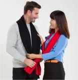 人の方法平野カラー羊毛アクリルの編まれた冬のスカーフ(YKY4619)