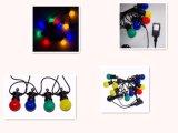 屋内屋外の使用のための20のマルチ着色されたLEDの花飾り党ライト