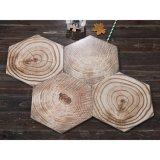 De houten Verglaasde Ceramische Hexagon Tegels van de Vloer