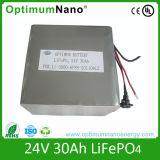 Batterie LiFePO4 solaire de la batterie au lithium 24V 30ah