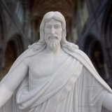 대리석 예수 동상 조각품, 종교적인 조각품 T-6898