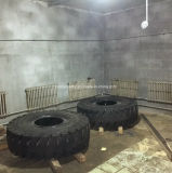 Polyurethan gefüllter Vollreifen für Bergbau