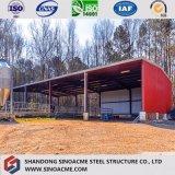 Entrepôt structural en acier préfabriqué de ferme de prix bas de fabrication de la Chine