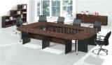 Bureau moderne en forme de U des tables de conférence Salle de réunion de la formation de Table en bois (SZ-MTT096)