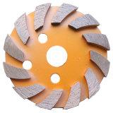Бетонный Пол алмазные шлифовальные круги 4 дюйма Металлизированный диск