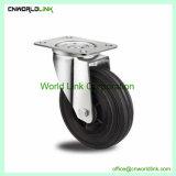 Muebles sólidos de rodadura de ruedas silla de rueda de nylon