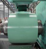 Las bobinas de PPGI, colorean la bobina galvanizada prepintada Ral9002 de acero revestida de la bobina