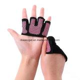 Luvas de protecção de silicone de treinamento cruzado Meia Luva Anti-Skid dedo para mulheres e homens Andar Remo Treino de halterofilia10631 ESG