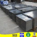 黒一色の熱間圧延の鋼板工場