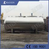 SUS304 Schip van de Hoge druk van de Tank van het Water van het roestvrij staal het Horizontale