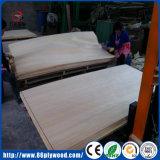 folheado Recon 0.5mm branco do Poplar da madeira compensada de 1250X2500mm