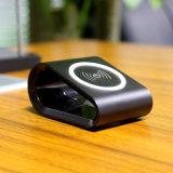 Carregador sem fio portátil para telefones espertos padrão de Qi