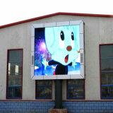 Piccolo schermo di visualizzazione esterno di vendita caldo di pubblicità di media del video LED di colore completo P10