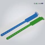 Weicher Wegwerf-Wristband/Armband des RFID Papier-/Kurbelgehäuse-Belüftung für Hostipal