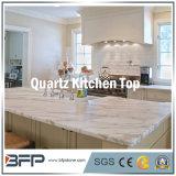 Granit extérieur Polished, marbre, partie supérieure du comptoir en pierre de quartz pour la pièce de cuisine