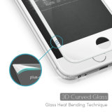 protecteur d'écran incurvé par 3D en verre Tempered de moulage à froid de conception de bord pour iPhone6s