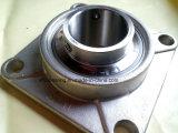 NSK que lleva el soporte del cojinete de acero presionado Sucf211 inoxidable del borde del acero