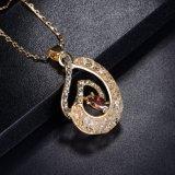 2017の卸売の方法宝石類のルビー色の宝石用原石のアフリカの金のネックレスの宝石類セット