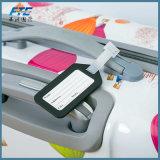 Modifica molle del sacchetto della modifica dei bagagli del PVC con il marchio su ordinazione