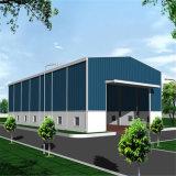 Pré-fabricados de Alta Resistência da estrutura de vigas de aço do Prédio de Depósito/Oficina
