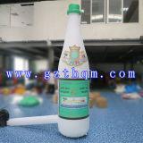 Riese, der das aufblasbare Flaschen-/Farben-Drucken bekanntmacht aufblasbare Flasche bekanntmacht