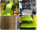 Piatto positivo di PS del rifornimento della fabbrica di colore verde