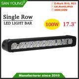 17pouces 100W CREE LED CREE LED Bar Barre d'éclairage Spot à lumière des projecteurs
