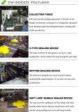 Máquina de fabricação de sacos de alça macia de plástico de vedação automática