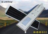 Lámpara al aire libre teledirigida del sensor de movimiento de la fuente de la energía solar LED