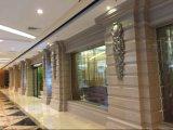 Mattonelle europee di vetro cristallizzate Nano della parete della lastra di stile sottilmente