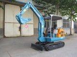 保定の果樹園、温室で使用される小型クローラー掘削機2.3t/0.08m3