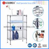 3개의 층 조정가능한 강철 목욕탕 그물 선반 선반설치 (CJ303045C3C)