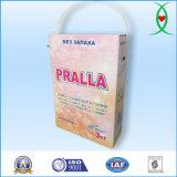 Poudre à laver détergente de blanchisserie de marque de Pralla