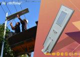 50W indicatore luminoso di via solare Integrated tutto compreso del campione libero LED