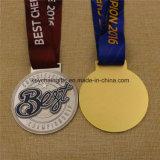 Il migliore campionato su ordinazione della medaglia mette in mostra la medaglia con il nastro