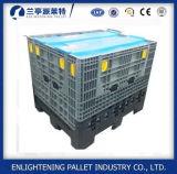 Grandes caixas plásticas dobráveis para a indústria
