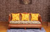 Accueil des meubles en rotin Meubles de salle de séjour un canapé fixe