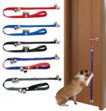 Собака Housetraining тренируя Potty поводок веревочки дверных звоноков дверных звоноков
