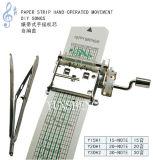 Movimento musical manual da tira de papel (Y15H1/Y20H1/Y30H2) B