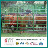 Painel resistente do gado/painéis galvanizados da jarda do gado do metal dos rebanhos animais