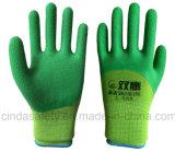 С покрытием из латекса волнистых готово безопасности рабочие перчатки
