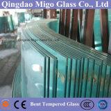 Gebäude gebogenes ausgeglichenes lamelliertes Glas für Balkon-Geländer-Balustrade